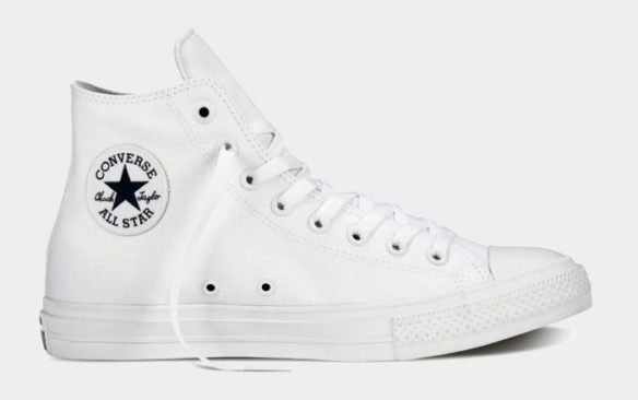 Фото Converse Chuck Taylor All Star II High белые - 4