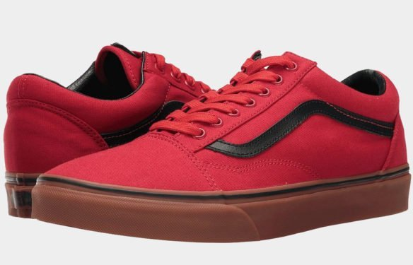 Фото Vans Old Skool Racing красные - 2