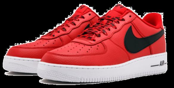 Фото Nike Air Force 1 LV8 NBA красные - 3