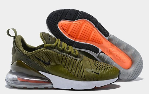 Фото Nike Air Max 270 зеленые - 2